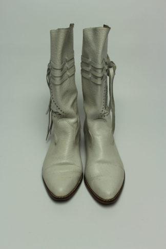 vintage stiefel grau