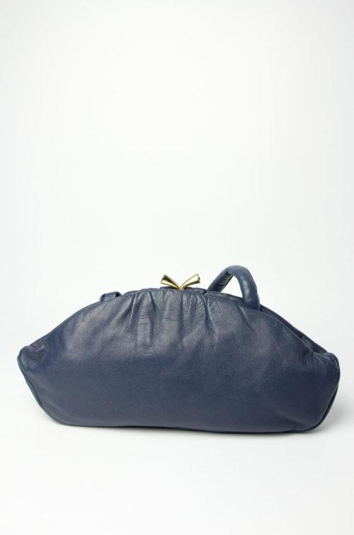 vintage tasche blau
