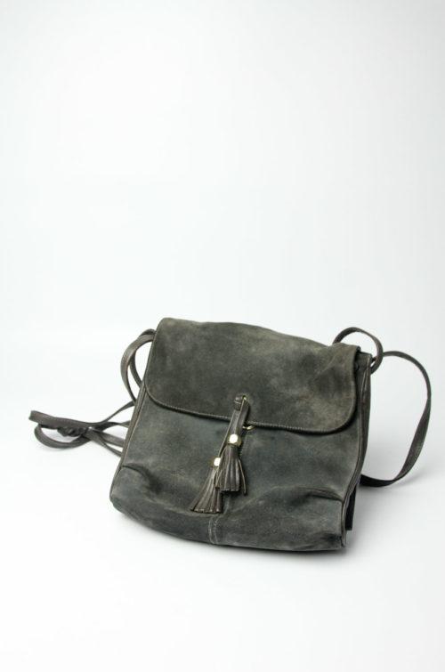 vintage willedertasche braun