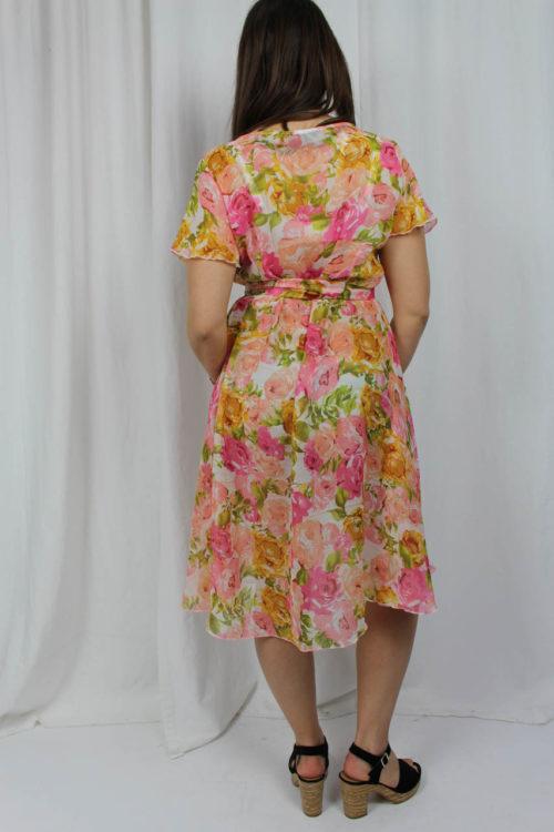 Kleid mit kurzen Ärmeln Online kaufen
