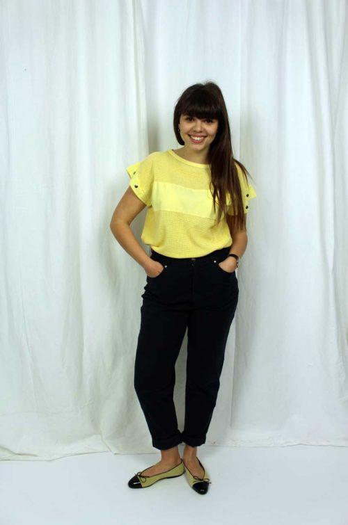 Vintage Shirt gelb