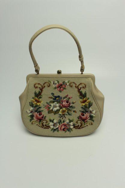 Vintage Tasche bestickt