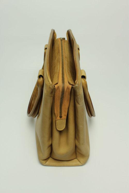 beige camel tragetasche
