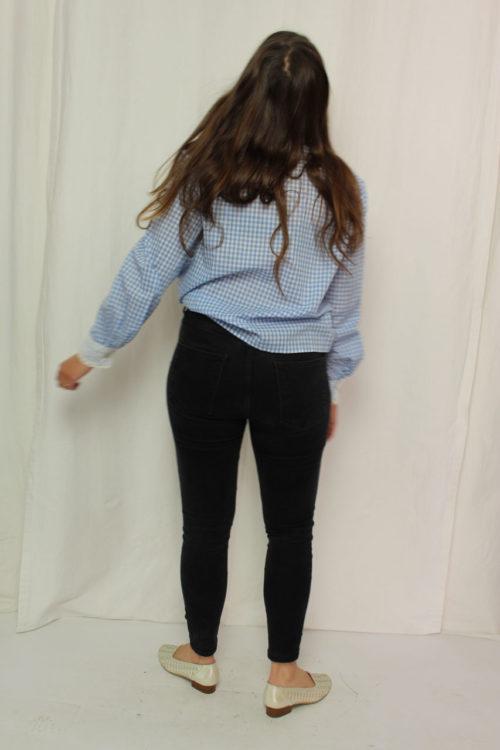 bluse spitze hemd