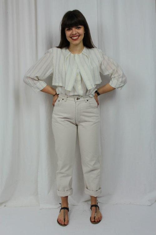 vintage Bluse Lagenlook