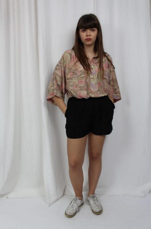 vintage bluse schlamm