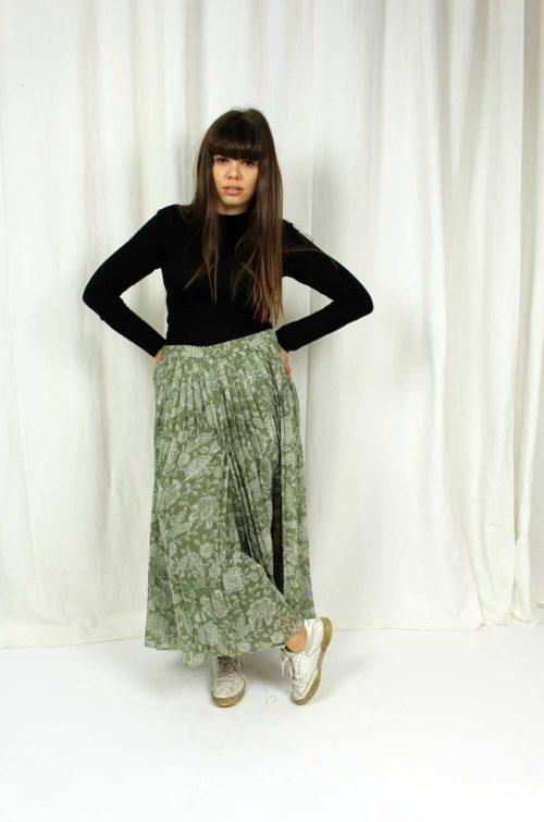 vintage culotte türkis