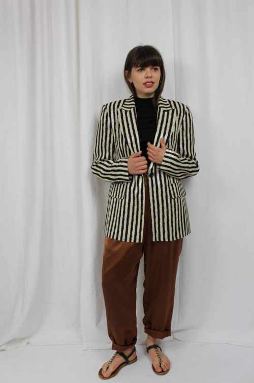 Blazer gestreift Second Hand