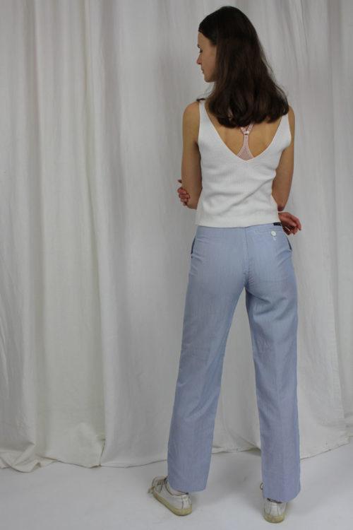 Pioneer Hose blau mit weißen Streifen