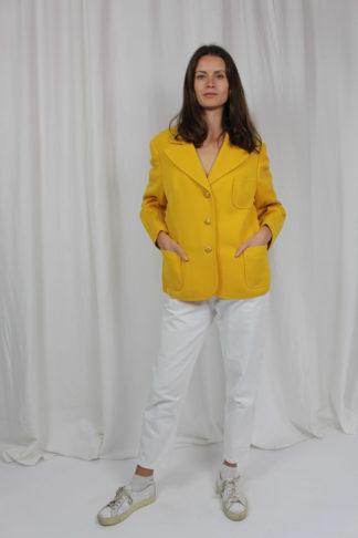 Vintage Blazer gelb