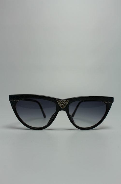 Vintage Sonnenbrille schwarz