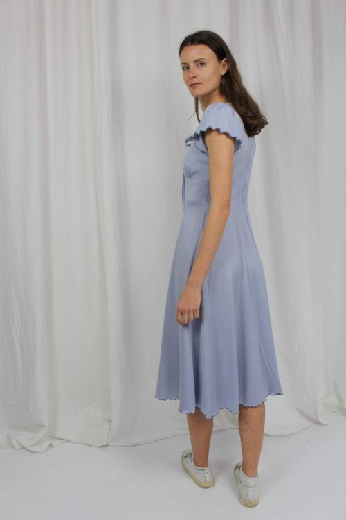 blaues Kleid St. Bernard Second Hand