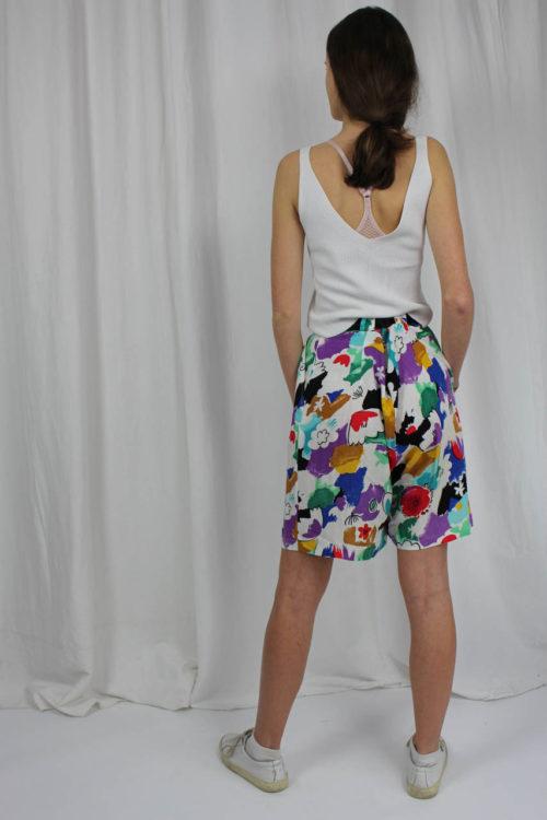 bunte Shorts kurz