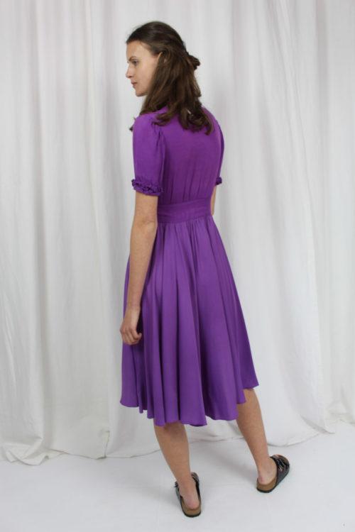lilanes Kleid mit Puffärmeln Second Hand