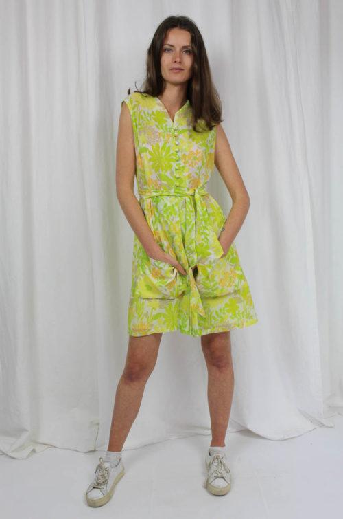 vintage 70er kleid