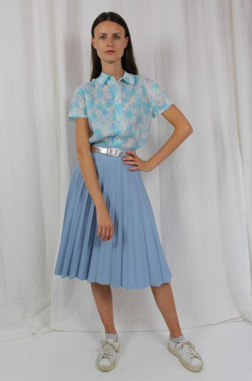 vintage bluse blumen