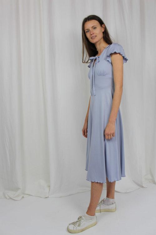 vintage dress light blue