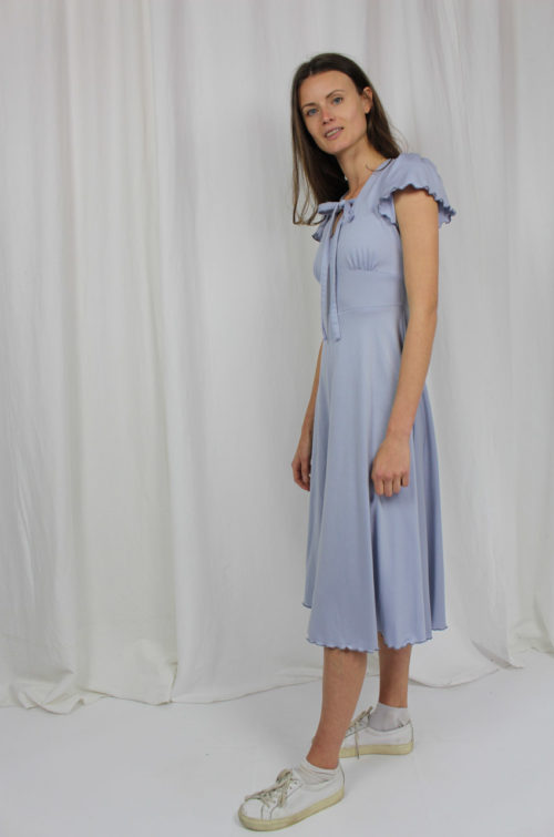 vintage dress light blue
