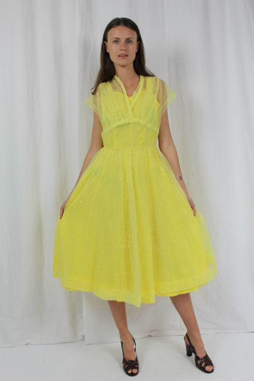 ausgestelltes Sommerkleid second Hand