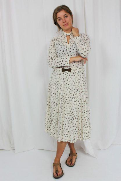 Kleid creme Second Hand