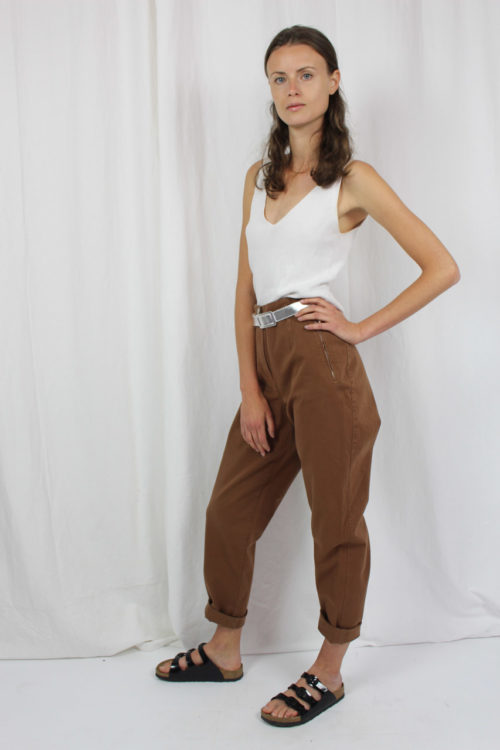 Vintage- Hose braun