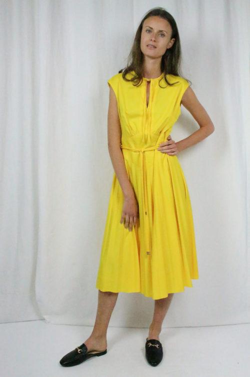 Vintage Kleid gelb