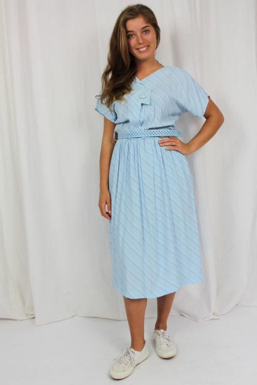 Vintage Kleid hellblau