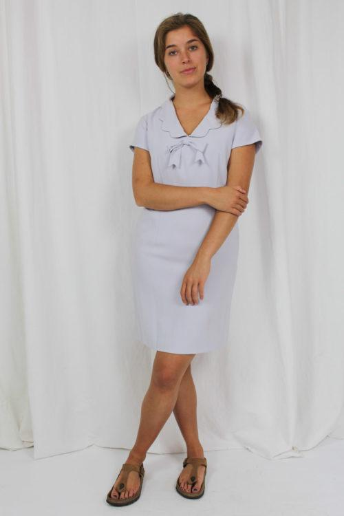 blaues Kleid Second Hand