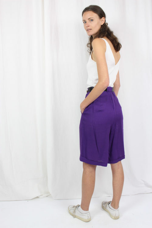 short Pants purple