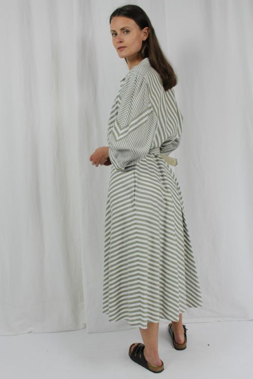 vintage dress gestreift