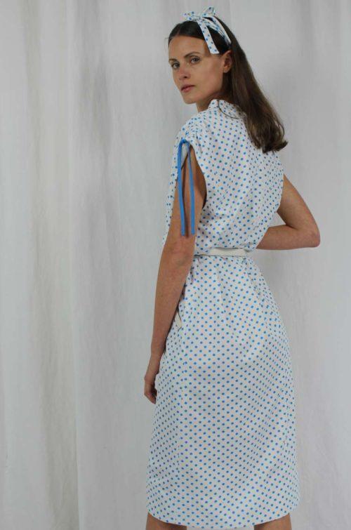 vintage punkte kleid
