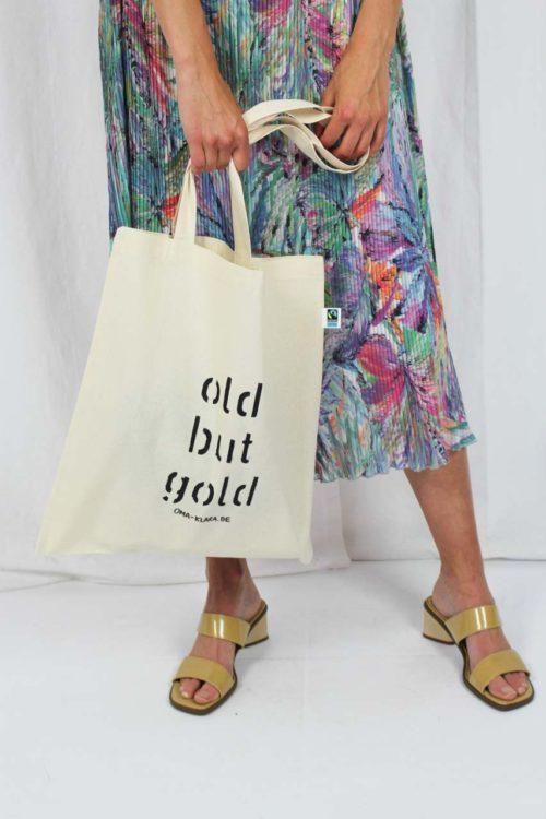 Einkaufstasche reine Baumwolle