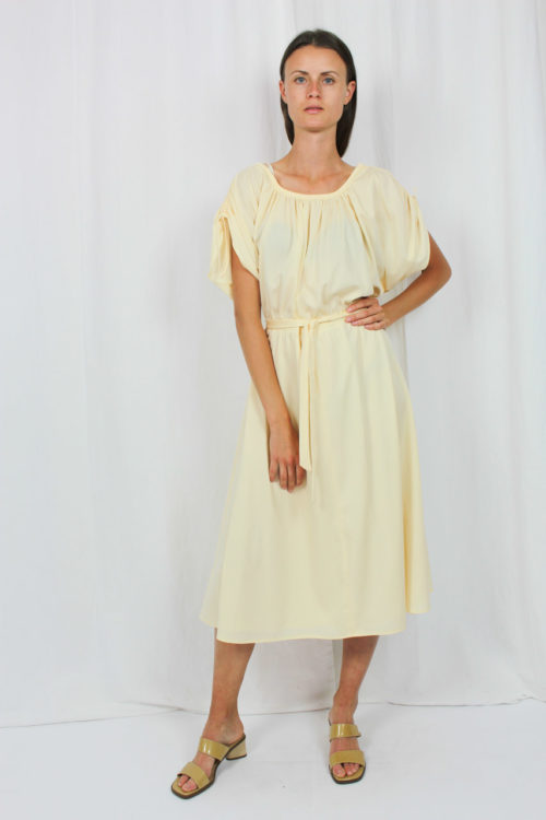 Kleid apricot Second Hand