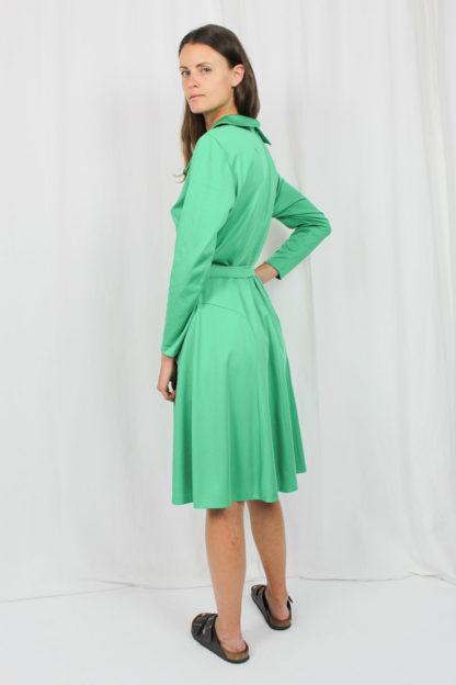 Kleid grün Second Hand
