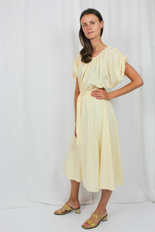 Vintage Kleid apricot