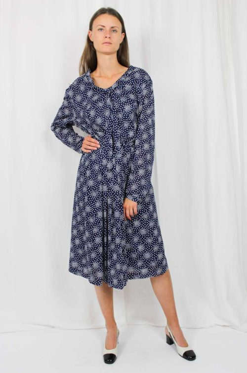Vintage Kleid blau
