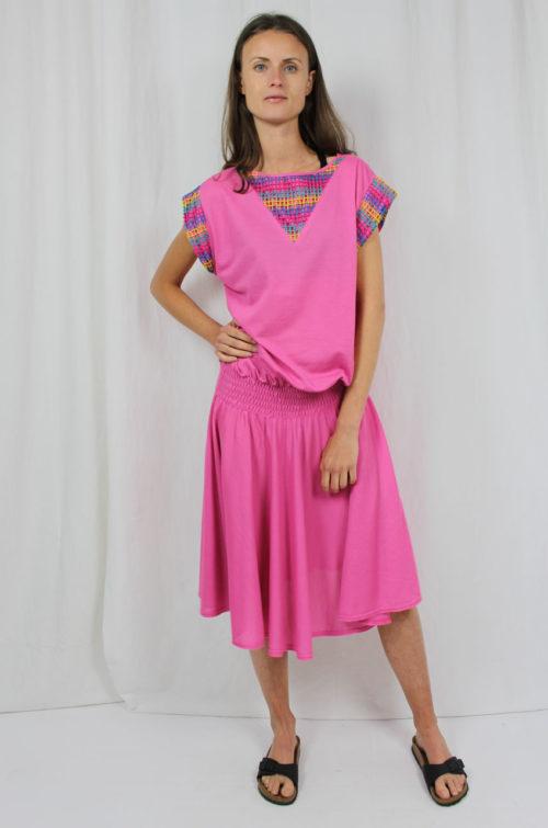 Vintage Kleid rosa
