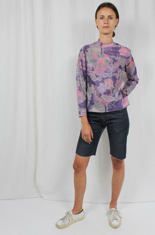 Vintage Pullover lila