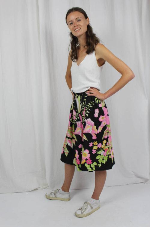 Vintage Skirt flowers