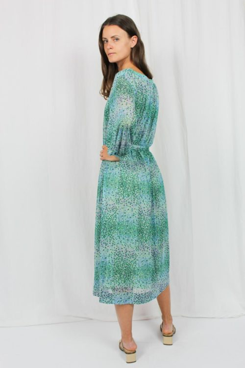 grünes Kleid Second Hand
