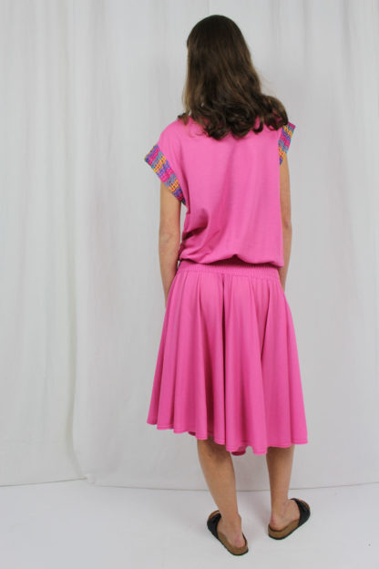 rosa Kleid Second Hand