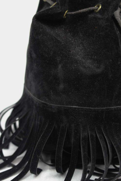Beuteltasche schwarz Second Hand