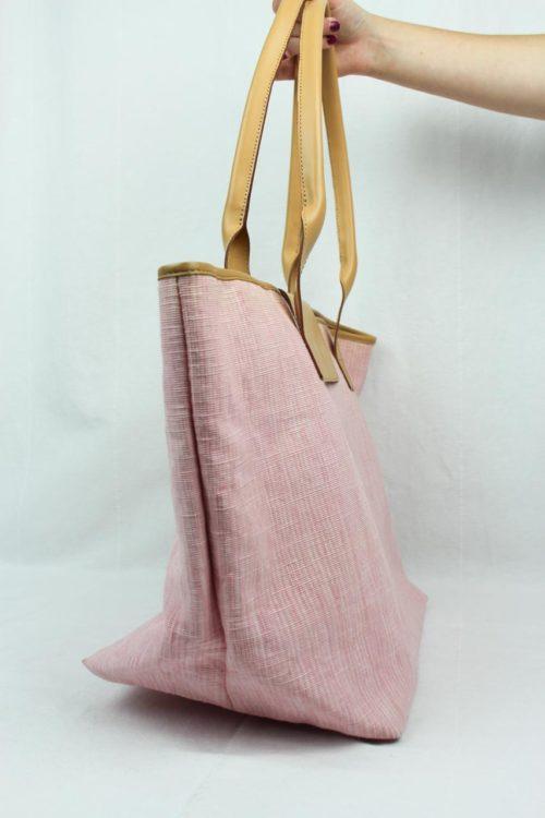 Tasche Shopper rosa