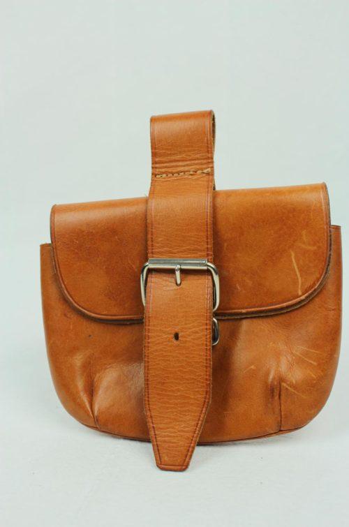 Vintage Gürteltasche Leder