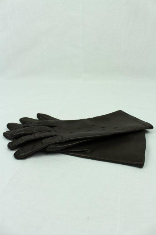 Vintage Lederhandschuhe braun