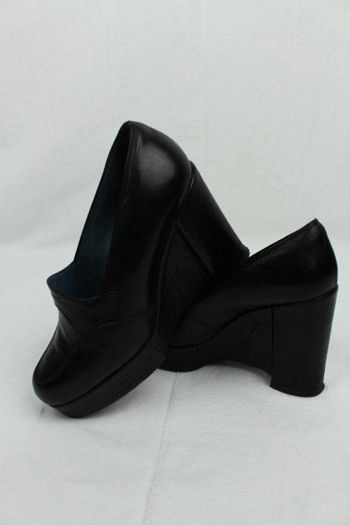 Vintage Schuh schwarz