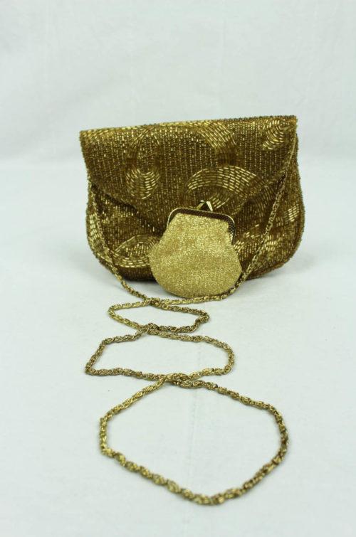 Vintage Tasche gold