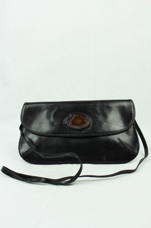 Vintage Tasche mit Achatscheibe