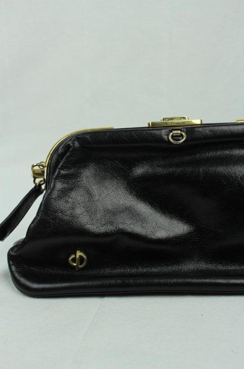 schwarze Tasche Diana Second Hand