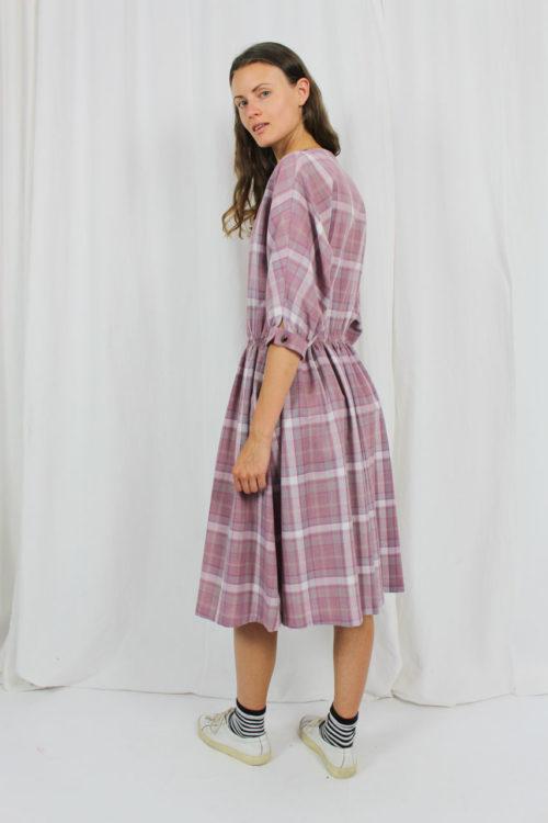 Vintage Kleid 80er Jahre rosa